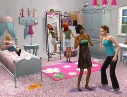 История Sims-семьи